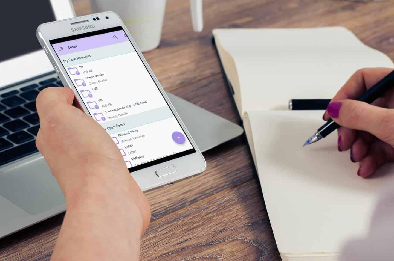lex247 smartphone app