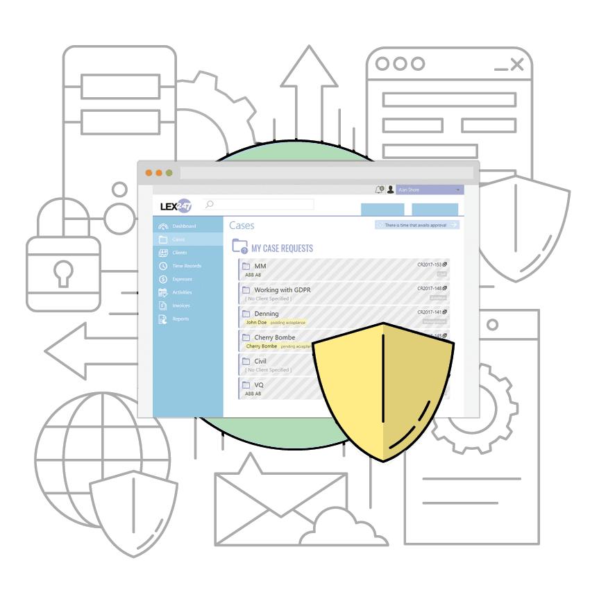 LEX247 Secure cloud-based legal practice management