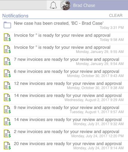 LEX247 notifications