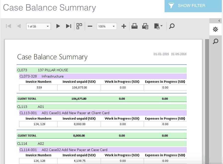 lex247 report