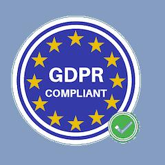 General Data Protection Regulation (GDPR) Compliant
